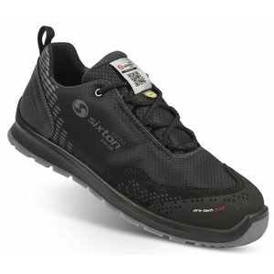 Safety shoes Skipper Auckland, black S3 SRC 45, Sixton Peak