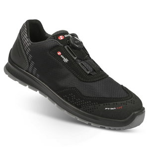 Safety shoes Skipper Newport BOA, black S3 SRC ESD 47, Sixton Peak