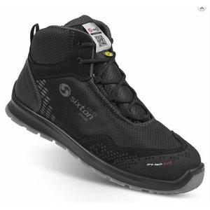 Safety shoes Skipper Auckland High, black S3 SRC 45, Sixton Peak