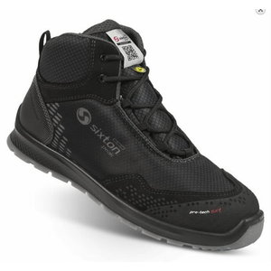 Safety shoes Skipper Auckland High, black S3 SRC 46, Sixton Peak