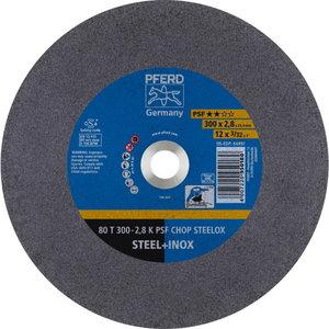 WHEEL 80T300-2,8 A36K PSF-CHOP-INOX 25,4, Pferd