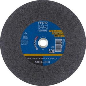 Diskas  80T350-2,8 A36K PSF-CHOP-INOX 25,4, Pferd