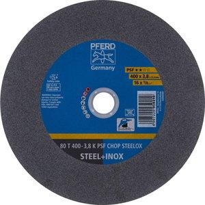 Metallilõikeketas T400-3,8 80 A36 K PSF-CHOP-INOX 25,4, Pferd