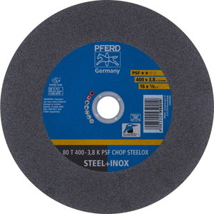 Disks 80T300-2,8 A36K PSF-CHOP-INOX 25,4, Pferd