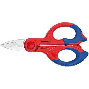 Žirklės elektrikui  155mm, Knipex