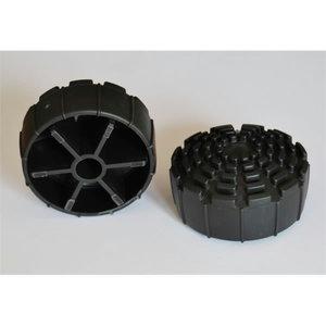 Rubber feet 72mm, Telesteps
