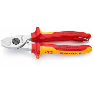Cable Shears 165mm VDE, with hook, Knipex