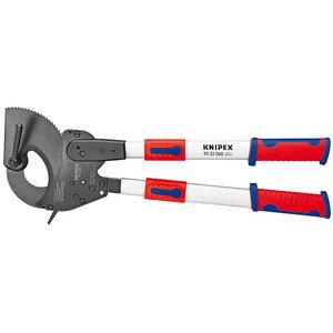 Kabeļu knaibles 6-100 mm 820 mm, teleskopiskie rokturi, Knipex