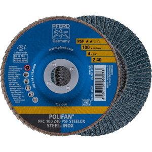 Lameļu disks 100x16mm Z40 PSF PFC POLIFAN, Pferd