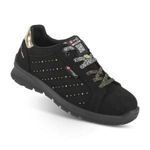 Safety shoes Skipper Lady Boma, black S3 SRC ESD women, Sixton Peak