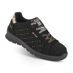 Safety shoes Skipper Lady Boma, black S3 SRC ESD women, SIXTON