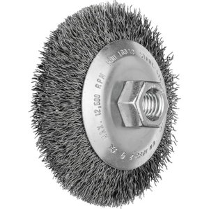 FL.C.BRUSH.W.H. KBU  9010 STD.  0,3  M14 5pc, Pferd