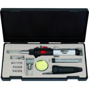 Mikro dujinio degiklio rinkinys 10-vnt., KS tools
