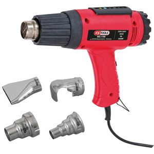Heat air blow gun set, KS Tools