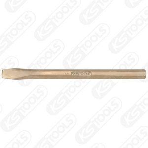 BRONZEplus Bricklayer´s chisel hexagon 14x200 mm, KS Tools
