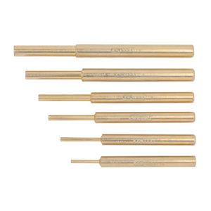 BRONZEplus Pin punch set 6 pcs, KS Tools