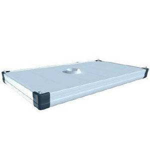 Single compartment modular hood 1,5x1,5m+con.flange&brackets, Plymovent