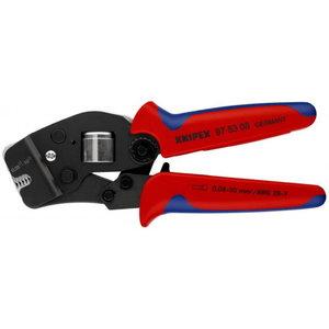 Johtopihdit päätypuristus 4-kulm. 0,08-10,0 mm2, Knipex