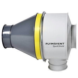 Sädemepüüdja SparkShield-500, toru diam. 500mm 9760000030, Plymovent