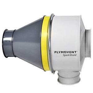 Sädemepüüdja SparkShield-500, toru diam. 500mm 9760000030, Plymovent