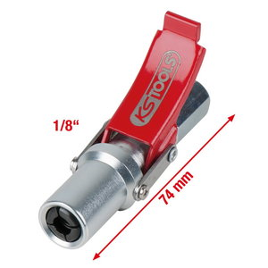 "Quick-Lock coupling for grease guns, 1/8"", KS Tools"