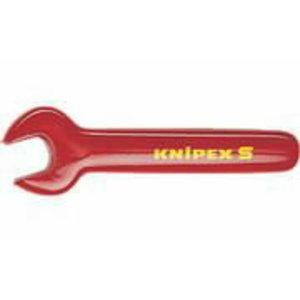 Atvērta gala uzgriežņu atslēga 12mm VDE, Knipex