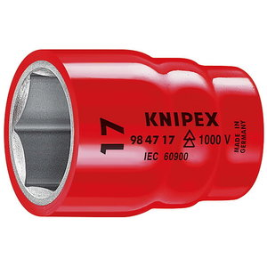 "padrun 3/8"" 17mm VDE, Knipex"