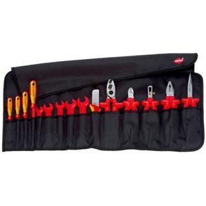 Tööriista kmpl 15 osa VDE, Knipex
