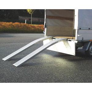 Uzbraukšanas rampa (kravnesība 400 kg), Ratioparts