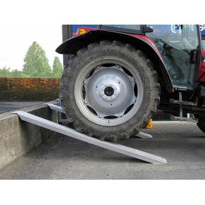 Aliuminio rampa, tiesi Pro 300 cm x 26 cm, 4000 kg, Ratioparts