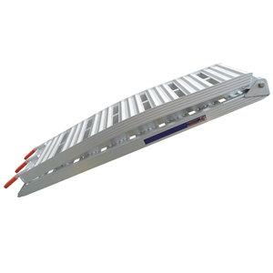 Loading Ramp Foldable, lightweight aluminium, arched, Ratioparts