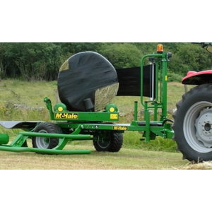 Round Bale Wrapper 991BE, Mchale