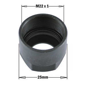 COLLET CLAMPING NUT (1 & 2), CMT