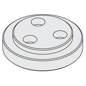 FLANGE FOR CHUCK WITH ARBOR 30MM  (M)