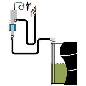 Wall mounted pump installation kit, Orion