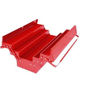 Įrankių dėžė, metalinė 200x550x190mm, KS Tools