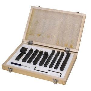 Turning tool 9pcs/10mm, HOLZMANN