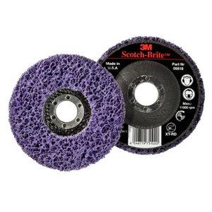 3M Scotch-Brite XT-RD pulēšanas disks 115 x 22, violets, 3M