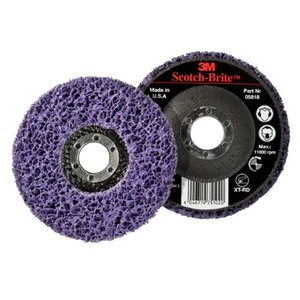 Diskas 115x22mm XT-RD purpurinis S XCRS, 3M