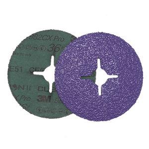Šķiedras disks metālam 982CX Pro Cubitron II 125mm P36+, 3M