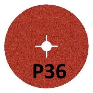 Fibrodiskas 125mm P36+ 987C Cubitron II nerūdijančiam plien, 3M
