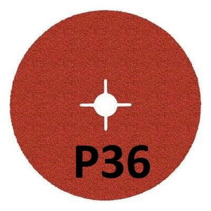 Fiber disc for INOX 987C Cubitron II 125mm P36+, 3M