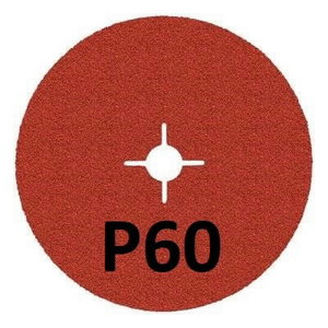 Šķiedras disks INOX 987C Cubitron II 125mm P60+, 3M