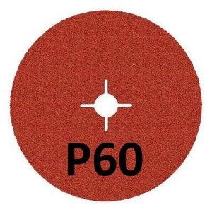 Fiber disc for INOX 987C Cubitron II 125mm P60+, 3M