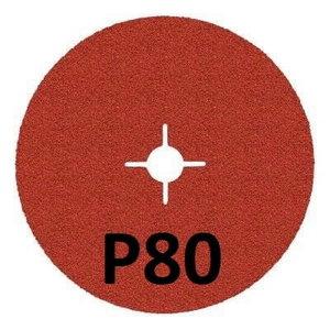 Fibro diskas INOX 987C Cubitron II 125mm P80+, 3M