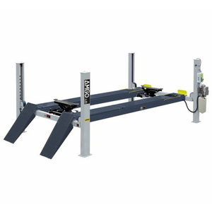 4-postlift A465A 6,5T, 5500mm, wheel alignment, AMGO