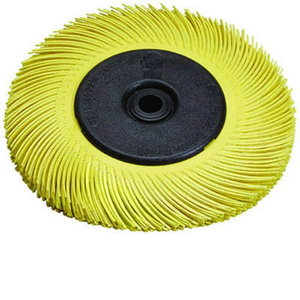 Scotch Brite Radial Bristle Brush BB-ZB T-C 150mm P80 A33215, 3M