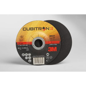 Cutting disc  65512  Cubitron II T41 125x1x22,23mm, 3M