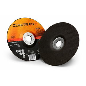 Slīpdisks 125x4,2mm Cubitron II T27, 3M