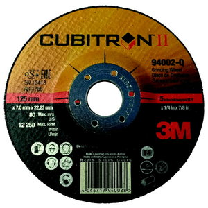3M Ceramic Grinding Wheel Cubitron II T27 127x7x22,23mm, 3M